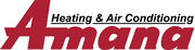 Kristian Air services and installs air conditioning units by Amana.