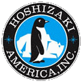 Kristian Air services and installs ice machines by Hoshizaki.
