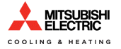 Kristian Air installs air conditioning units by Mitsubishi Electric.